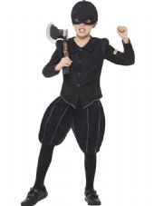 Childs Horrible Histories Tudor Executioner Costume